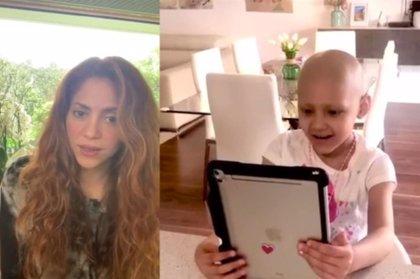 Shakira y Juegaterapia emocionan a Corina y recuerdan a los niños con cáncer #NoEstásSolo