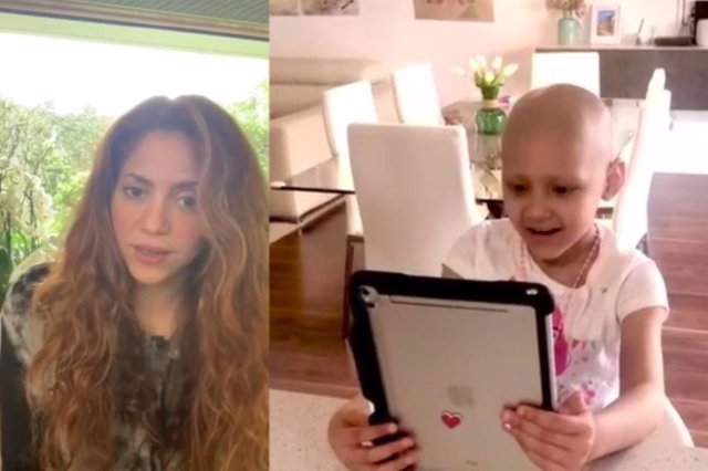 Shakira, Corina y Juegaterapia recuerdan a los niños con cáncer #NoEstásSolo