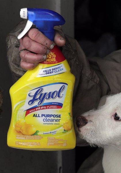 Coronavirus.- Los fabricantes de desinfectante replican a Trump y piden a la población que no se inyecte sus productos