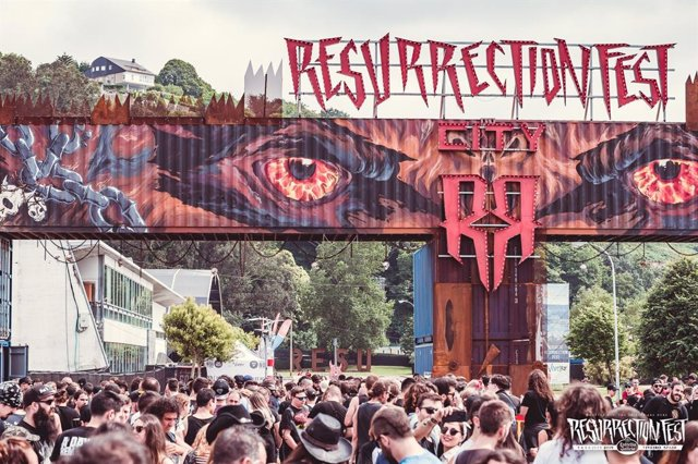Entrada al Resurrection Fest