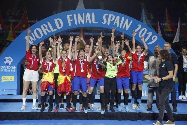 Final de la Danone Nations Cup de 2019 en Barcelona