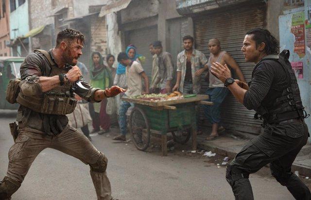 Imagen de la película Tyler Rake (Extraction)