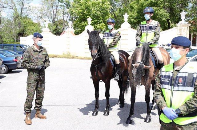 Coronavirus.- La Guardia Real y la seguridad de la Casa del Rey informan a Felip