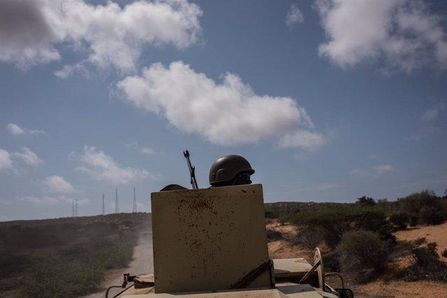Somalia.- La AMISOM dice haber repelido un atentado de Al Shabaab con camiones b