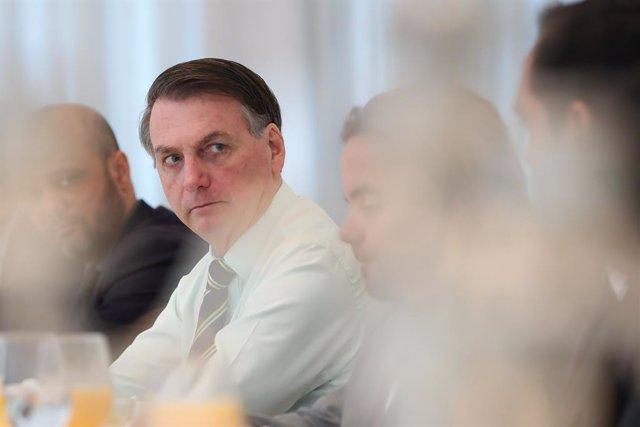 """Brasil.- Bolsonaro arremete contra el exministro de Justicia y lo acusa de """"esta"""