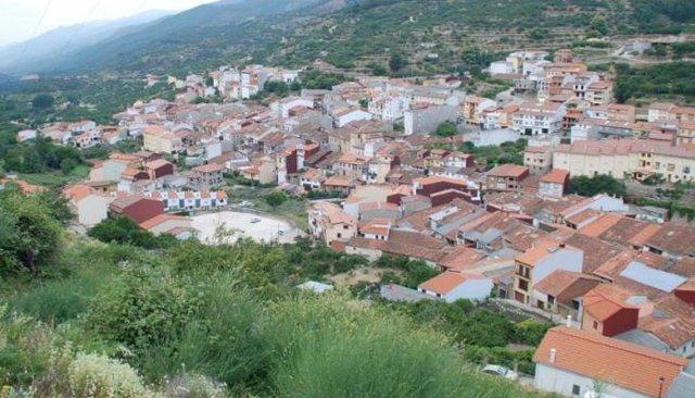 Vista panorámica de Tornavacas