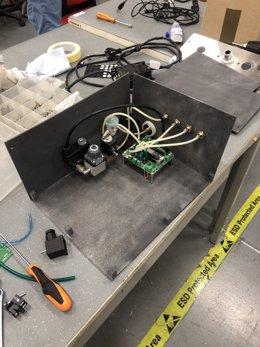 Respirador creado por el equipo de investigación