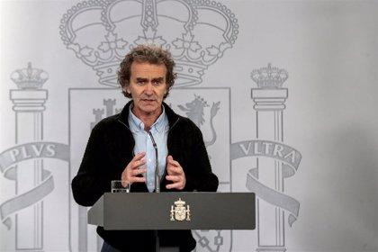 "Simón dice que España está ""en fase de posible control"": ""Nos permite plantear situaciones de futuro"""