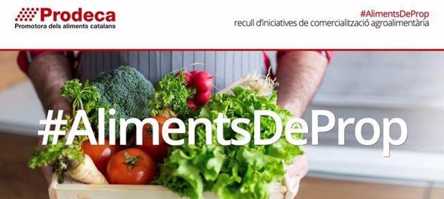 Imatge de la web #AlimentsDeProp