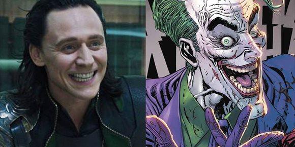 2. Así sería Tom Hiddleston (Loki) como Joker en The Batman de Robert Pattinson
