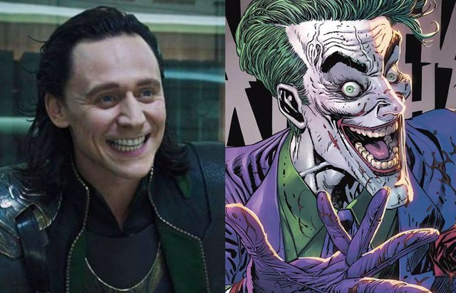 Así sería Tom Hiddleston como Joker en The Batman