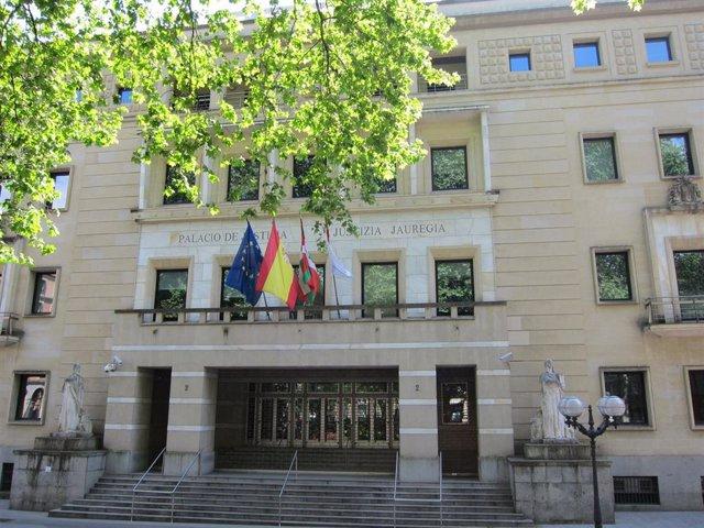 Imagen del Tribunal Superior de Justicia del País Vasco (TSJPV)