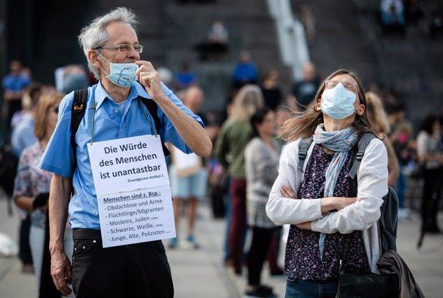 Coronavirus.- Nuevas protestas en Alemania por las restricciones por el coronavi