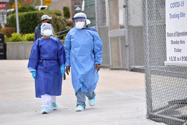 Coronavirus.- Nueva York confirma 437 muertos diarios mientras los casos en EEUU