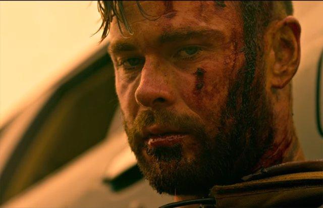 Chris Hemsworth en Tyler Rake, la película de Netflix