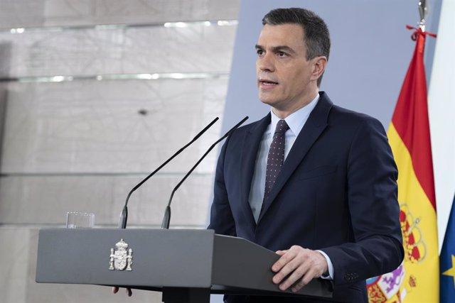 Coronavirus.- Sánchez anuncia que a partir del 2 de mayo se podrá salir a hacer