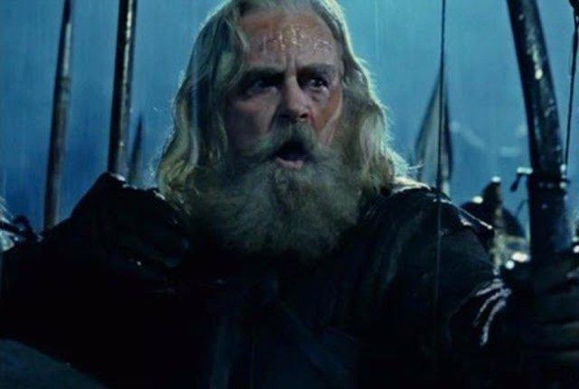 Bruce Allpress en El señor de los anillos