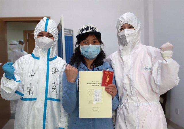 Coronavirus.- China anuncia que todos los pacientes de Wuhan, origen de la pande