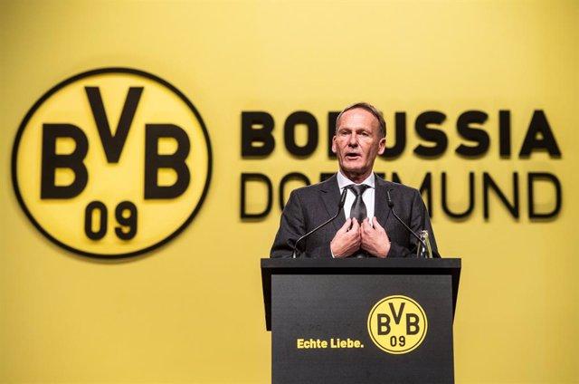 """Fútbol.- Hans-Joachim Watzke: """"Si no jugamos durante los próximos meses, toda la"""