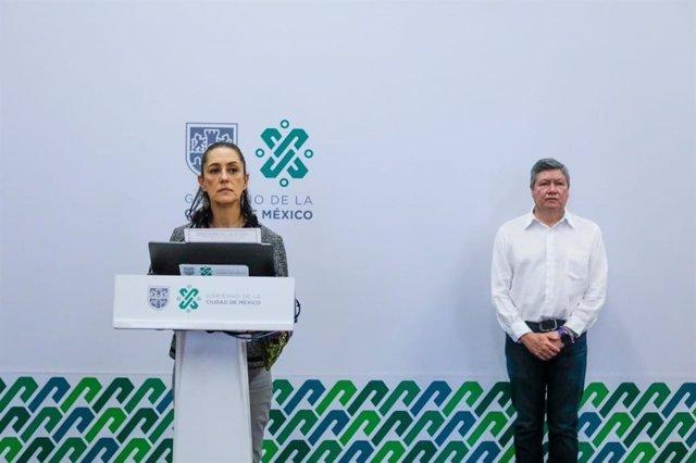 La jefa de gobierno de Ciudad de México, Claudia Sheinbaum