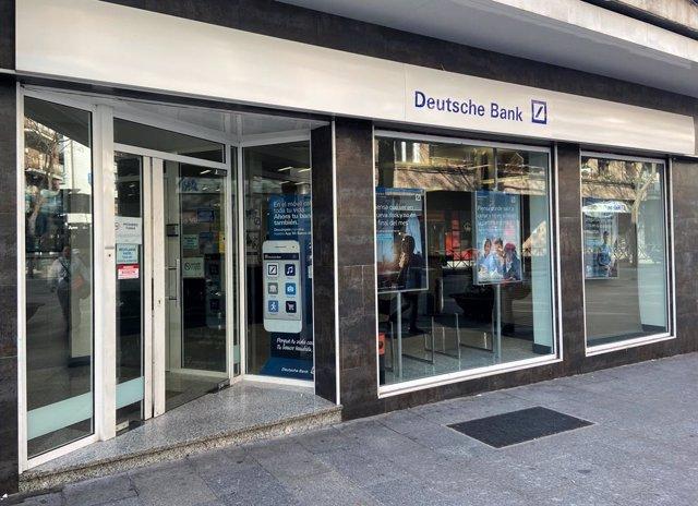 Alemania.- Deutsche Bank adelanta un beneficio de 66 millones hasta marzo, por e