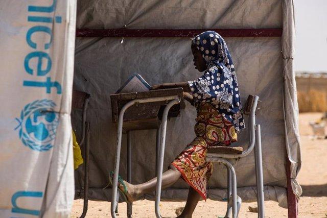 Una niña en Níger