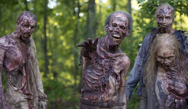 Zombies en The Walking Dead