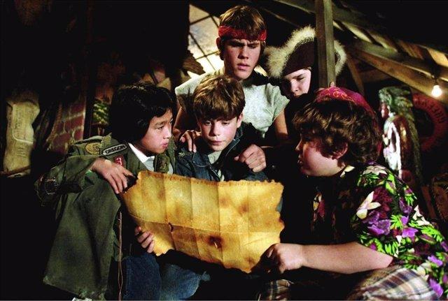 Imagen de la película Los Goonies