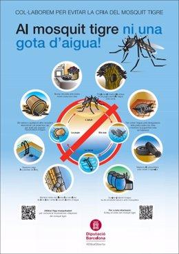 La Diputació de Barcelona sensibilitza sobre els riscos del mosquit tigre per minimitzar-los