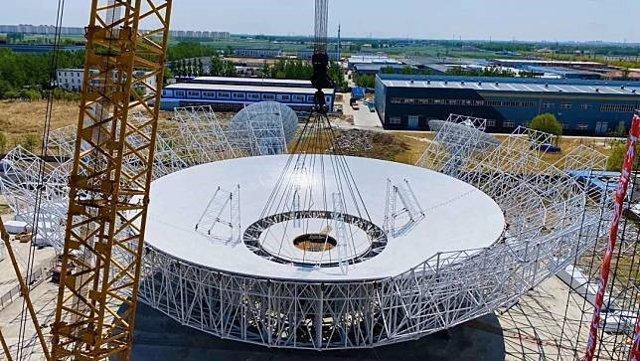 China construye una antena de 70 metros para contactar con Marte
