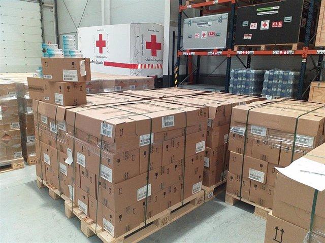 Donación de Bayer a Cruz Roja