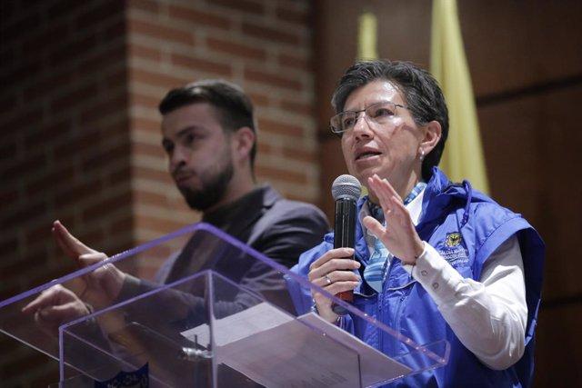 Coronavirus.- La Fiscalía investiga a la alcaldesa de Bogotá por salir a comprar
