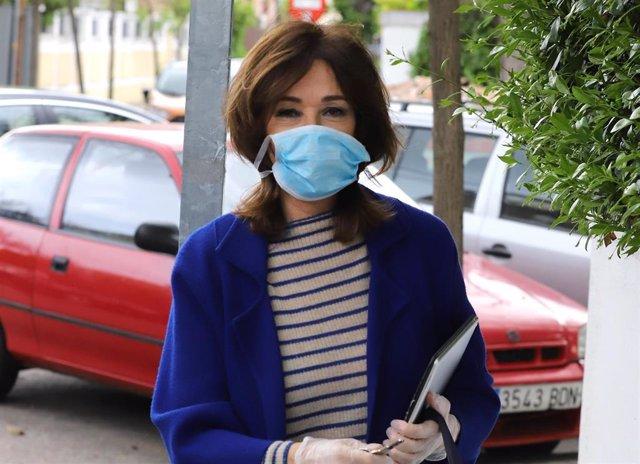Ana Rosa Quintana reaparece tras incorporarse al trabajo después de permanecer días en casa por una afonía