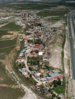 Vista aérea La Cañada Real
