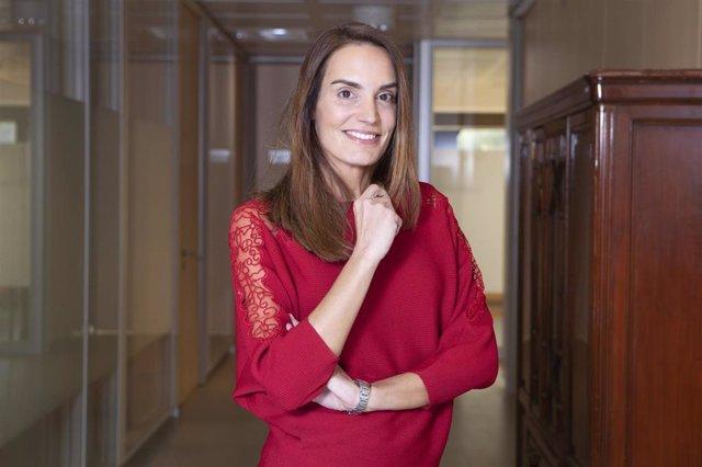 La presidenta de la Asociación de Inspectores de Hacienda del Estado (IHE), Berta Tomás.