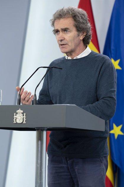 Simón asegura que España explicó a la OCDE que los datos eran de test PCR y de anticuerpos