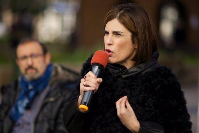 La candidata a Lehendakari de Elkarrekin Podemos, Miren Gorrotxategi