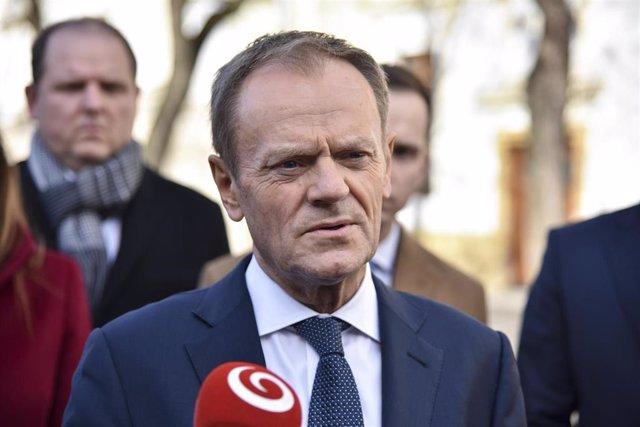 Donald Tusk, antiguo primer ministro de Polonia