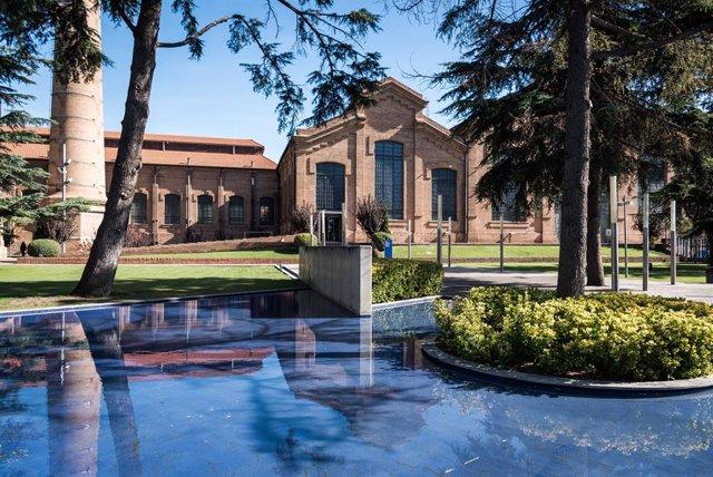 Façana del Museu dels Aigües a Cornellà de Llobregat (Barcelona)