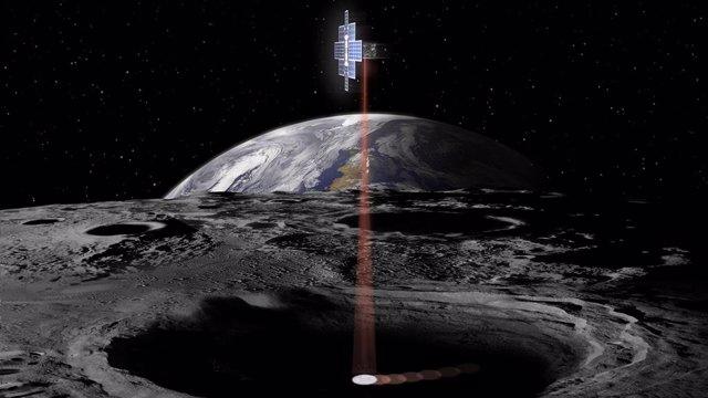 La NASA proyecta una linterna láser que busque hielo en la Luna