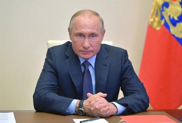 Coronavirus.- Putin ordena ampliar el confinamiento en Rusia por el coronavirus