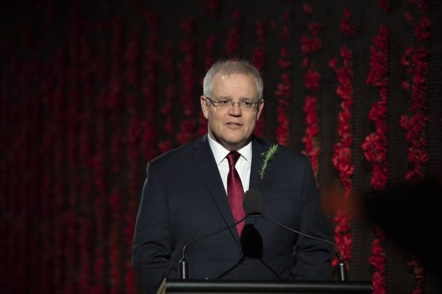 El primer ministro de Australia, Scott Morrison.