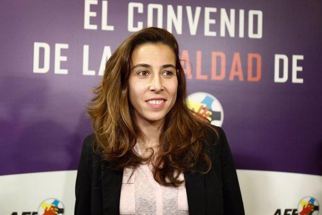 Fútbol.- La portera del Athletic Ainhoa Tirapu se retirará a final de temporada