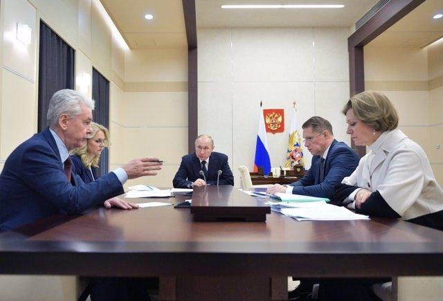 "Coronavirus.- Putin insiste en que la ""amenaza"" de la propagación del coronaviru"