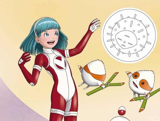 Súper V, una superheroína de GSK para mostrar a los jóvenes cómo funcionan las vacunas