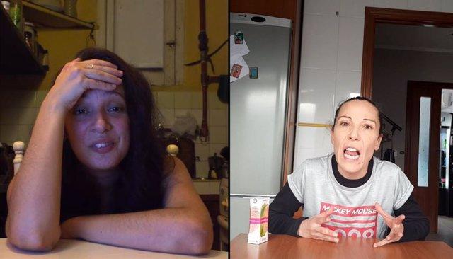 Una webserie realizada por Atakama cuenta la vida de dos amigas confinadas en La