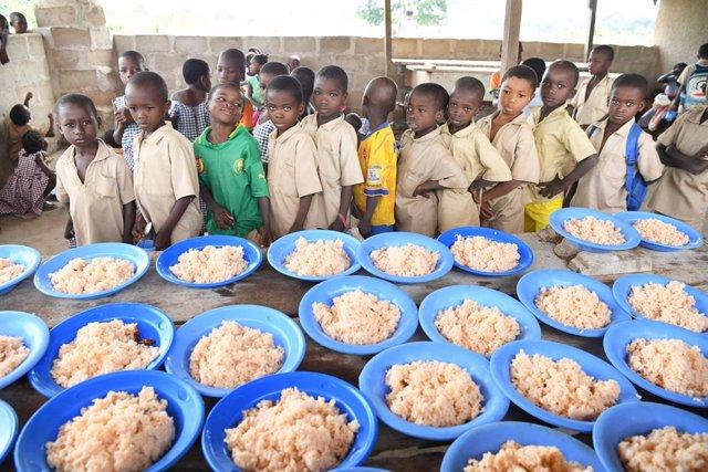 Coronavirus.- Unos 370 millones de niños están en riesgo tras quedarse sin menús