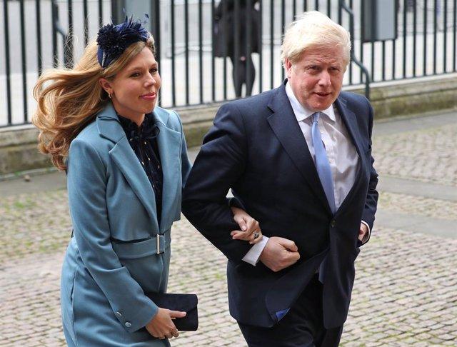R.Unido.- Boris Johnson y su novia tienen su primer hijo en común
