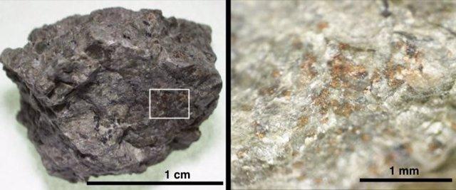 Evidencia de antigua materia orgánica marciana con nitrógeno en un meteorito