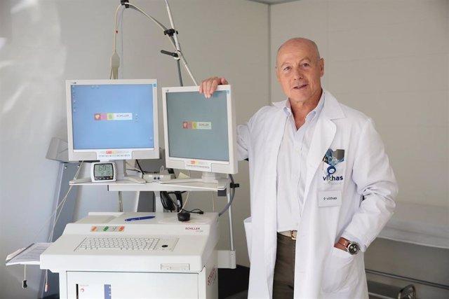 El doctor Juan Antonio Corbalán, exjugador de baloncesto y Director de la Unidad de Salud Deportiva de Vithas Internacional
